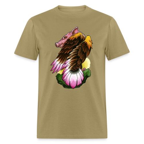 Eagle-Pig - Men's T-Shirt