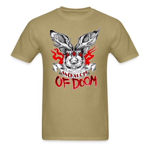 Jackalope of Doom - Men's T-Shirt