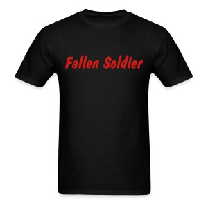 Fallen Soldier T Shirt - Men's T-Shirt