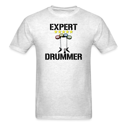 Expert Drummer - Mens - Men's T-Shirt