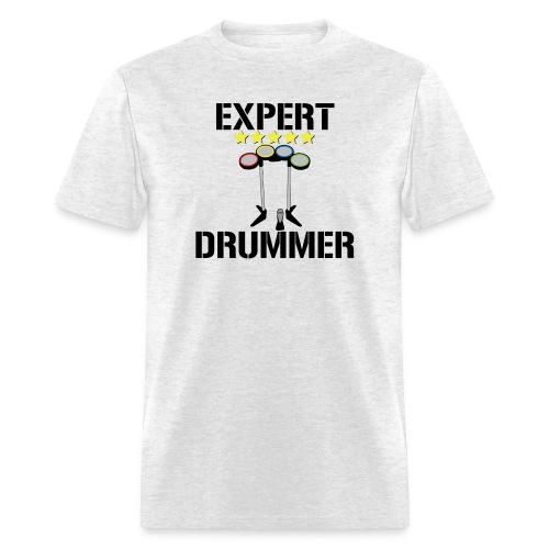 Expert Drummer - Mens - Men's T-Shirt