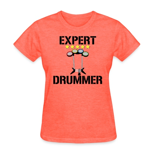 Expert Drummer - Womens - Women's T-Shirt