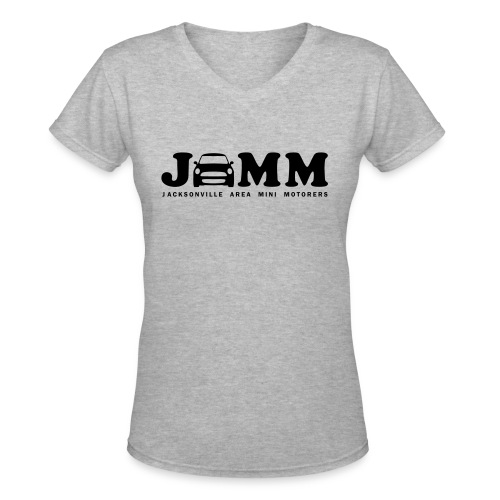 Women's V-Neck T-Shirt - sunshine,MINI Cooper,MINI,Jacksonville,JAMM
