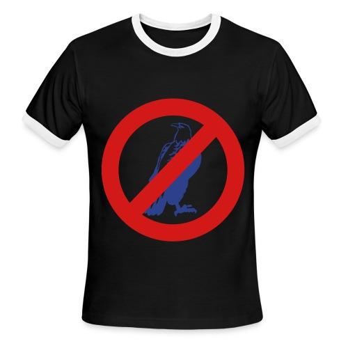 dertaH The AntiAll Ringer - Men's Ringer T-Shirt