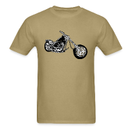 T-Shirts ~ Men's T-Shirt ~ TSO - Chopper Bike