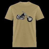 T-Shirts ~ Men's T-Shirt ~ TSO - Chopper Bike