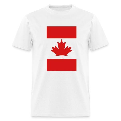 Vertical Canada Flag - Men's T-Shirt