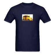 T-Shirts ~ Men's T-Shirt ~ TSO - School Bus