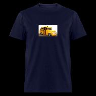 T-Shirts ~ Men's T-Shirt ~ TSO - School Bus