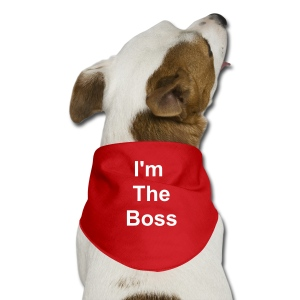 TSO - Pet - I'm The Boss - Dog Bandana