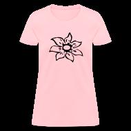T-Shirts ~ Women's T-Shirt ~ TSO - Flower Tee