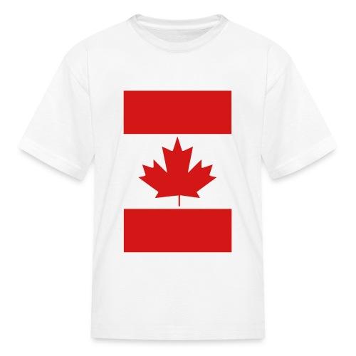 Vertical Canada Flag - Kids' T-Shirt