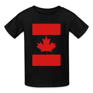 Vertical Canada Flag - Kids' T-Shirt