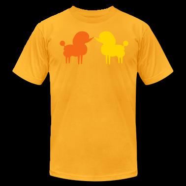 Gold POODLES T-Shirts