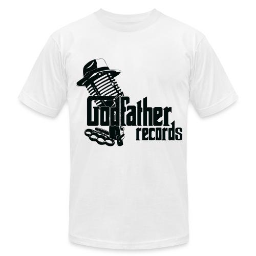 Godfather Records T-Shirt (Black Logo) - Men's Fine Jersey T-Shirt