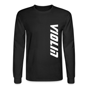 Violin - Men's Long Sleeve T-Shirt