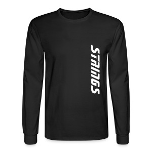 Strings - Men's Long Sleeve T-Shirt