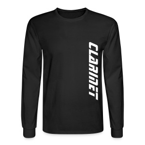 Clarinet - Men's Long Sleeve T-Shirt