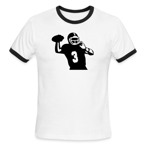 Guys Football GOShirt - Men's Ringer T-Shirt