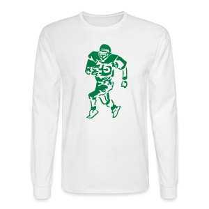 Guys Football GOShirt - Men's Long Sleeve T-Shirt