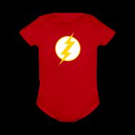 Baby & Toddler Shirts ~ Baby Short Sleeve One Piece ~ SUPERHERO T-Shirt - Sheldon