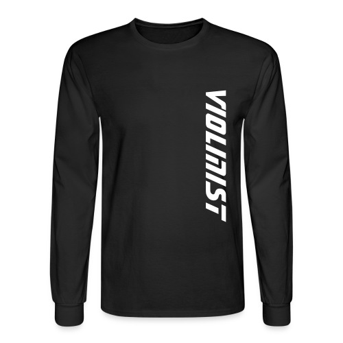 Violinist - Men's Long Sleeve T-Shirt