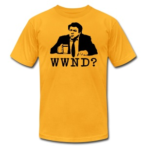 What Would Norm Do Men's American Apparel Tee - Men's T-Shirt by American Apparel