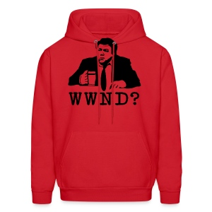 What Would Norm Do Men's Hooded Sweatshirt - Men's Hoodie