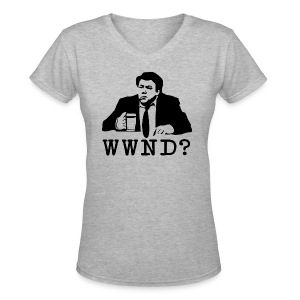 What Would Norm Do Women's V-Neck T-Shirt - Women's V-Neck T-Shirt