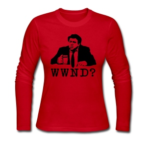 What Would Norm Do Women's Long Sleeve Jersey Tee - Women's Long Sleeve Jersey T-Shirt