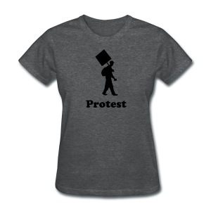 protest - Women's T-Shirt