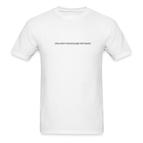 Blank - Men's T-Shirt