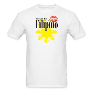 Kiss me, I'm Filipino - Men's T-Shirt