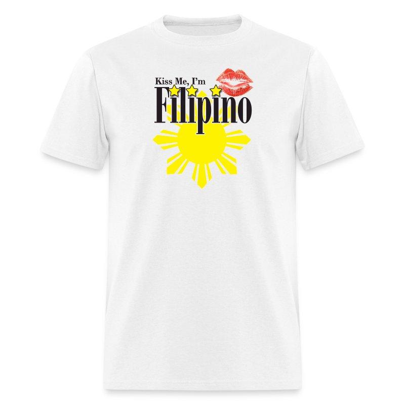 Kiss me, I'm Filipino - Men's T-Shirt
