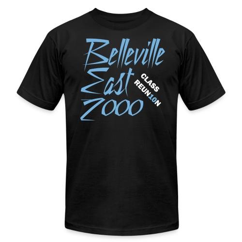 Belleville East Class of 2000 10-year reunion - Men's black - Men's Fine Jersey T-Shirt