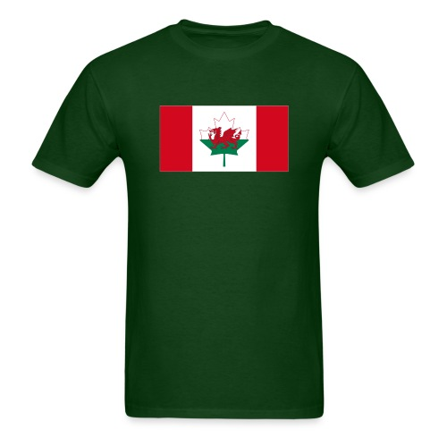 Canada Wales - Men's T-Shirt
