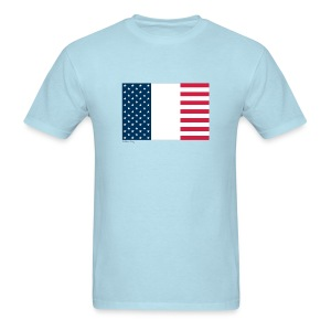 France USA - Men's T-Shirt