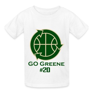 Go Greene Kids (Green Text) - Kids' T-Shirt