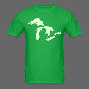 Just Michigan Glow in the Dark Men's Standard Weight T-Shirt - Men's T-Shirt