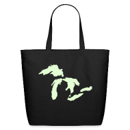 Bags & backpacks ~ Eco-Friendly Cotton Tote ~ Detroit - Michigan Tote Bag