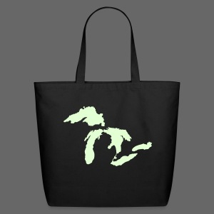 Detroit - Michigan Tote Bag - Eco-Friendly Cotton Tote