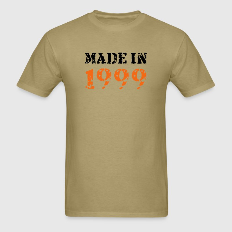 Khaki Made in 1999 T-Shirts - Men's T-Shirt