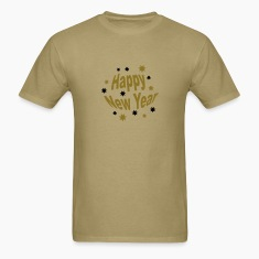 Khaki happy_new_year T-Shirts