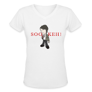 T-Shirts ~ Women's V-Neck T-Shirt ~ SOOKEH!!