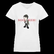 Women's T-Shirts ~ Women's V-Neck T-Shirt ~ SOOKEH!!