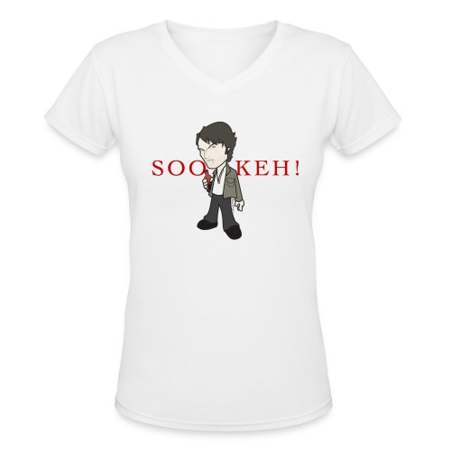 SOOKEH!! - Women's V-Neck T-Shirt