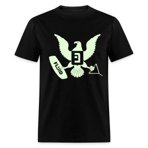 Eagle Glow-In-The-Dark - Men's T-Shirt
