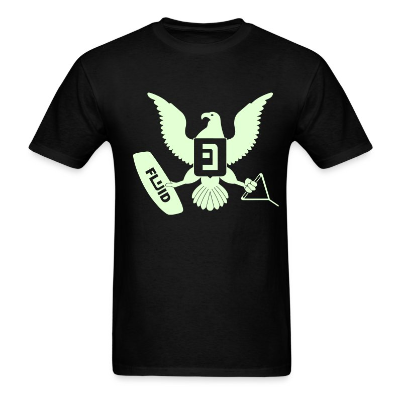 Eagle Glow-In-The-Dark - Men's T-Shirt