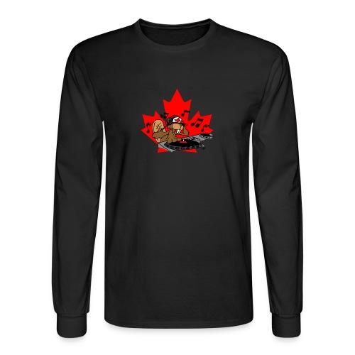 Beaver DJ - Men's Long Sleeve T-Shirt