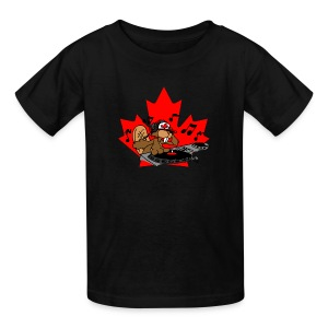 Beaver DJ - Kids' T-Shirt